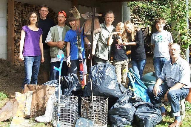 Müllsammelaktion in Waldkirch – und ein Gewinnspiel