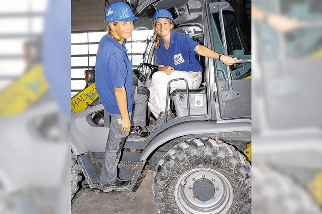 Frauenpower auf dem Bau