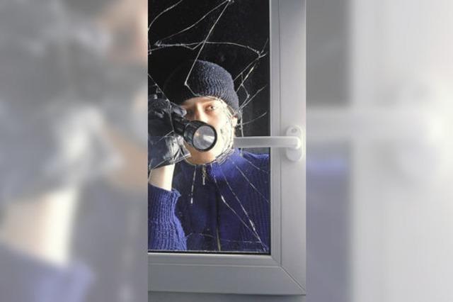 Mit einfachen Mitteln Einbrecher abschrecken