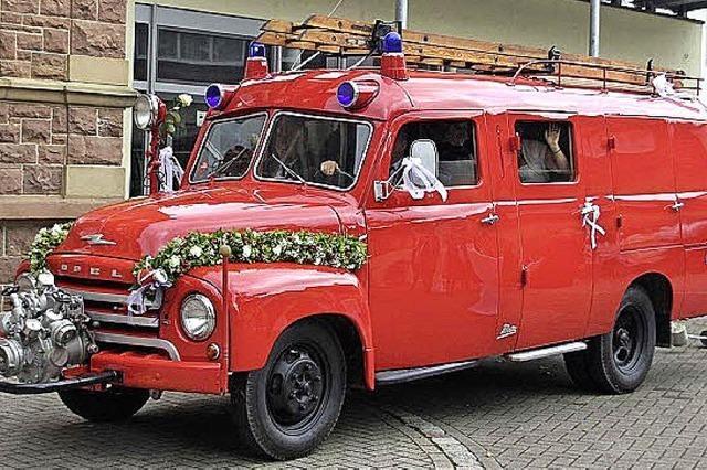 Der Opel Blitz ist wieder fahrbereit