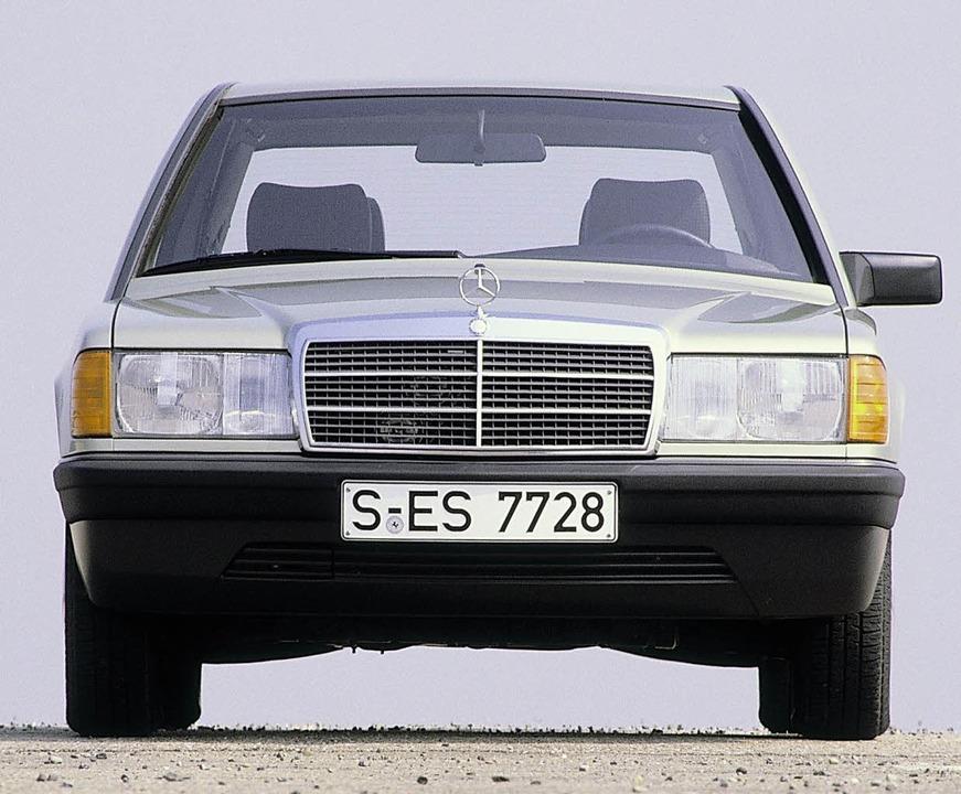 Zum Beispiel Baby-Benz (1982–199...die Einspritzanlage Probleme machen.    | Foto: Daimler