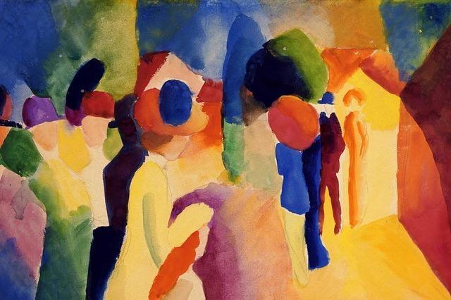 100. Todestag des Expressionisten August Macke