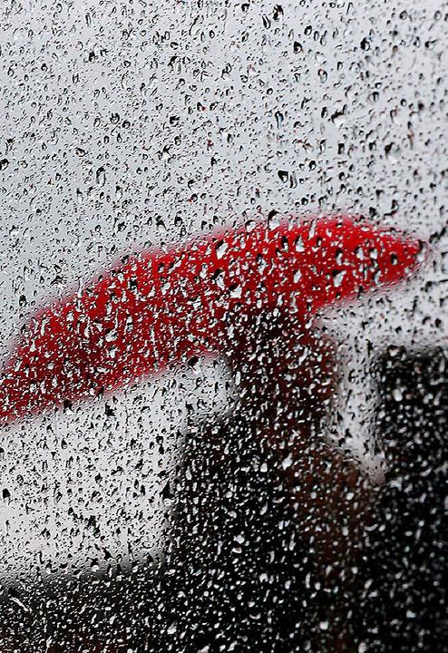 Ungemütliches Wetter fördert das Schimmelwachstum.   | Foto: Oliver Berg/dpa