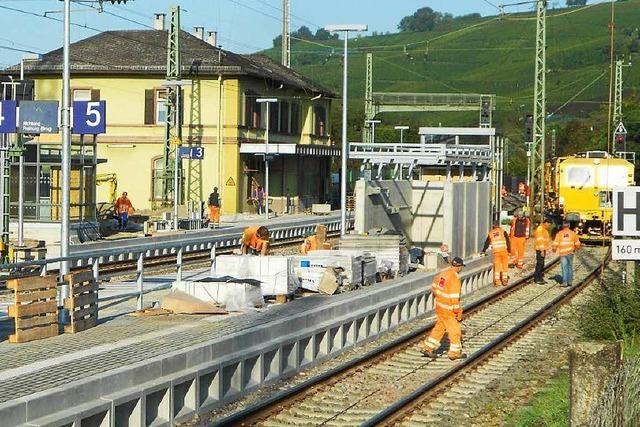 Die Bahn wird fertig