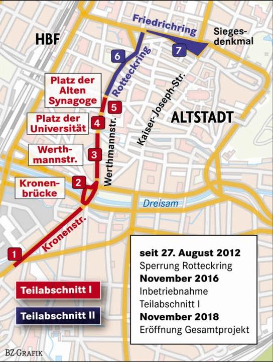 Die Planungen auf der Karte  | Foto: -