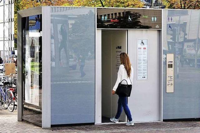 Hightech-Toilette wird ins Vauban verlegt