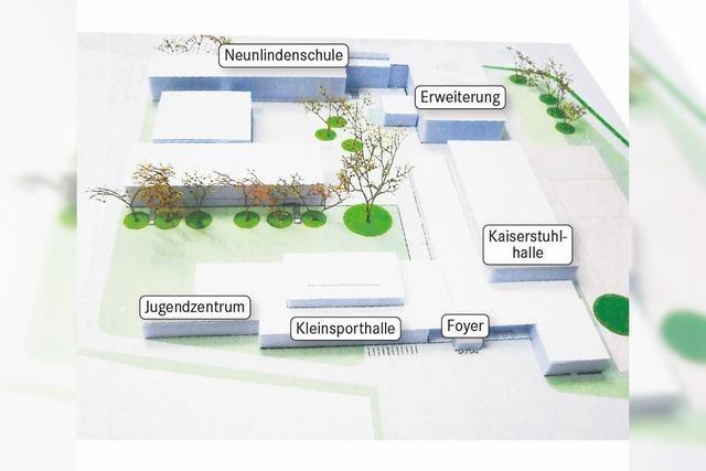 Neues Gesicht für die Neunlindenschule in Ihringen