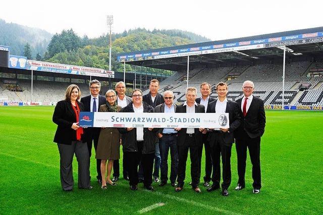 Schwarzwald-Stadion: Tourismus GmbH und Liftverbund sind Paten