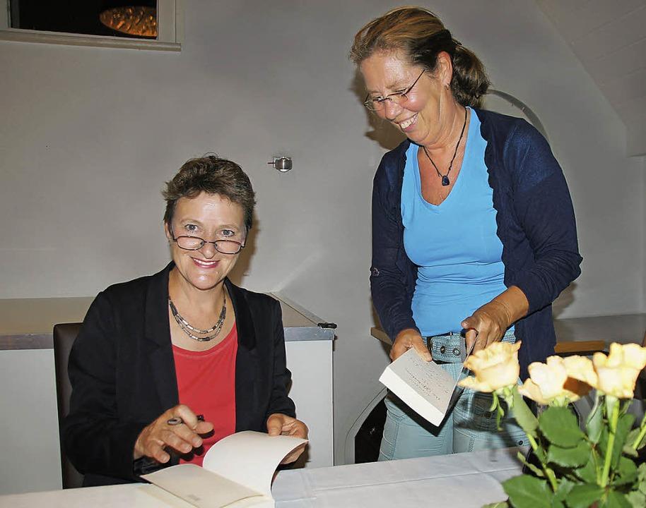 Astrid Fritz liest in Kenzingen: Zum e...i, der am 1. September erschienen ist.  | Foto: Ilona Hüge