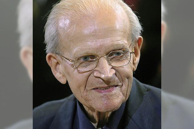 Lehrstuhl in München nach Eugen Biser benannt