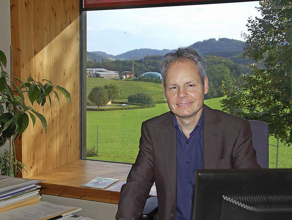 Ein Arbeitsplatz in herrlicher Umgebun... Konrektor wird nun offiziell Rektor.   | Foto: Pia Grätinger