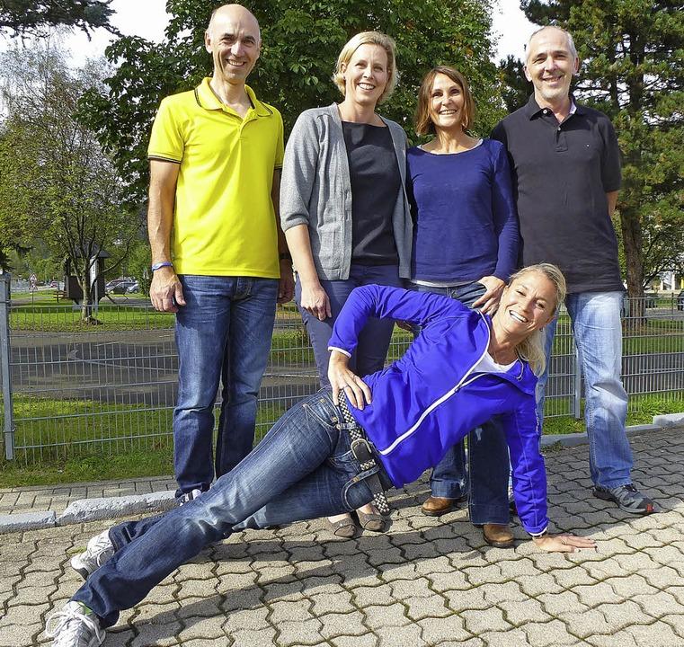 In Bewegung: Der SC-Vorsitzende Egon H...Spinning-Organisator Manfred Löffler.   | Foto: peter Stellmach