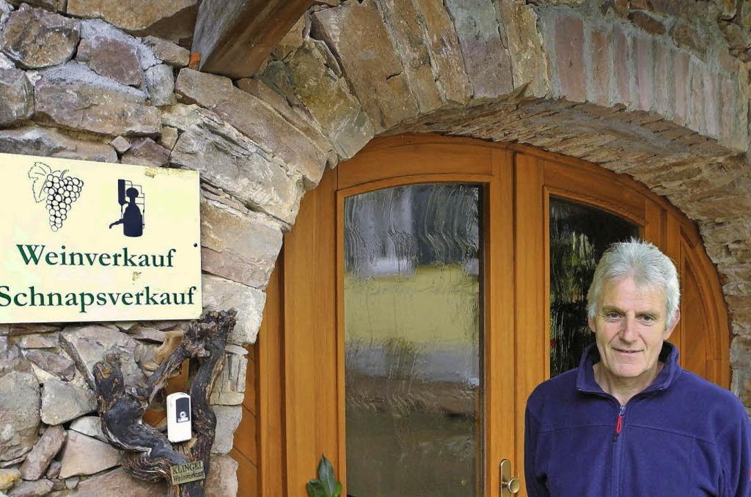 Gerhard Mangold öffnet seine Stuben-Strauße am 3. Oktober.  | Foto: Sophia Hesser