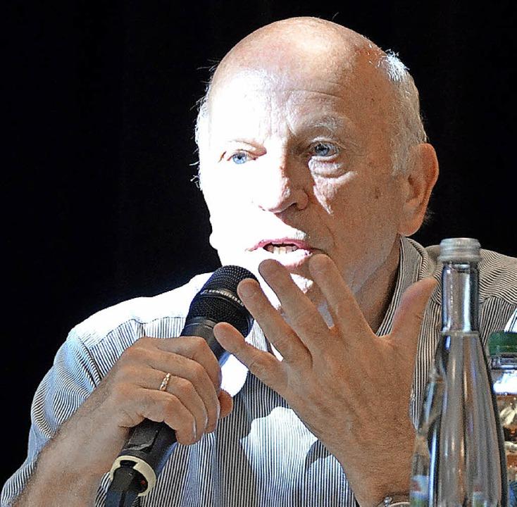 Der Vorsitzende Eckart Rosendorfer   | Foto: archiv: rab
