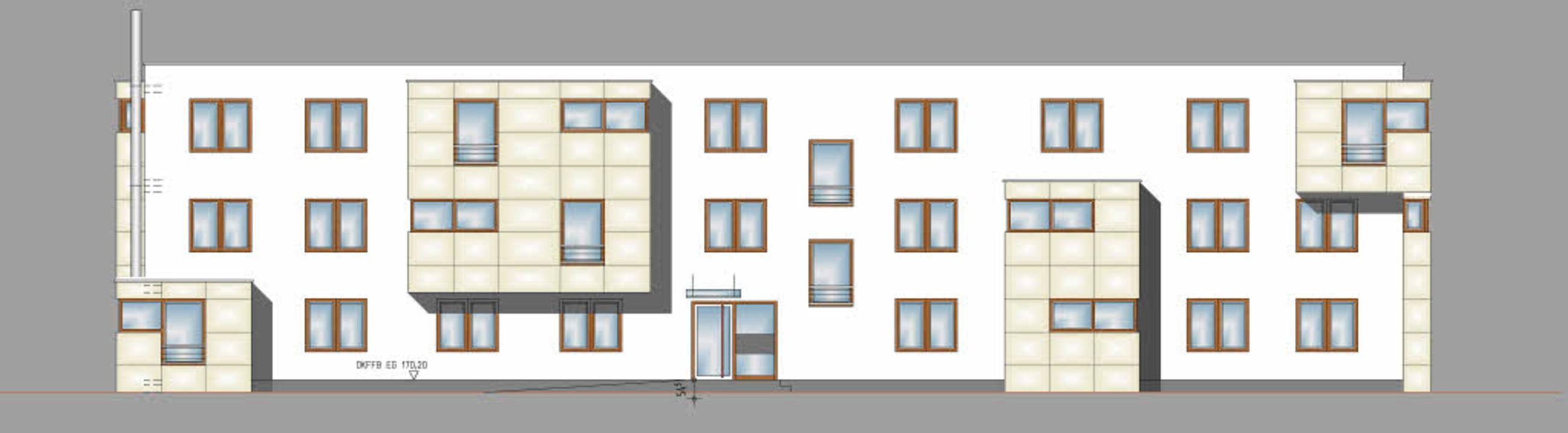 Durch Vorsprünge und unterschiedliche ...er aus Oberkirch für den Seitenpfaden.  | Foto: Feger Architekten Oberkirch