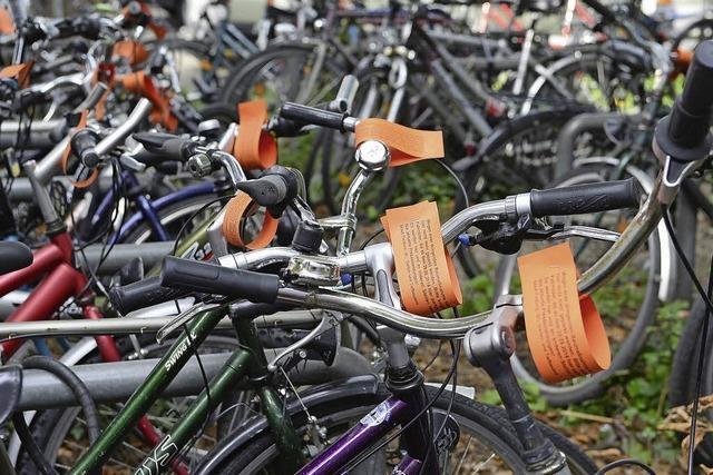 Radstellplätze werden saniert
