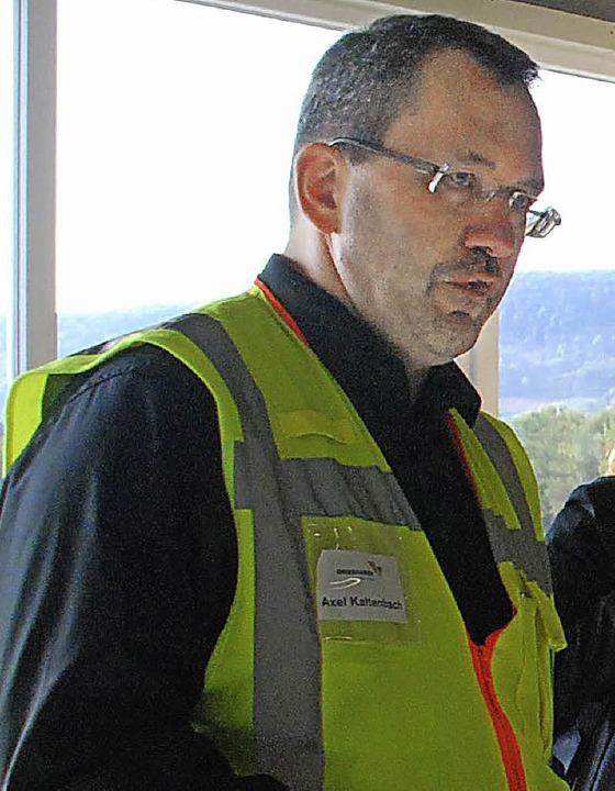 Axel Kaltenbach leitet die Niederlassung in Herten.    Foto: Ralf Staub
