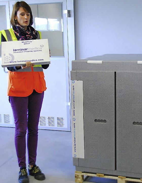 Bis zu sechs Tage hält die große  Box die  Temperatur im Innern.    Foto: Ralf Staub