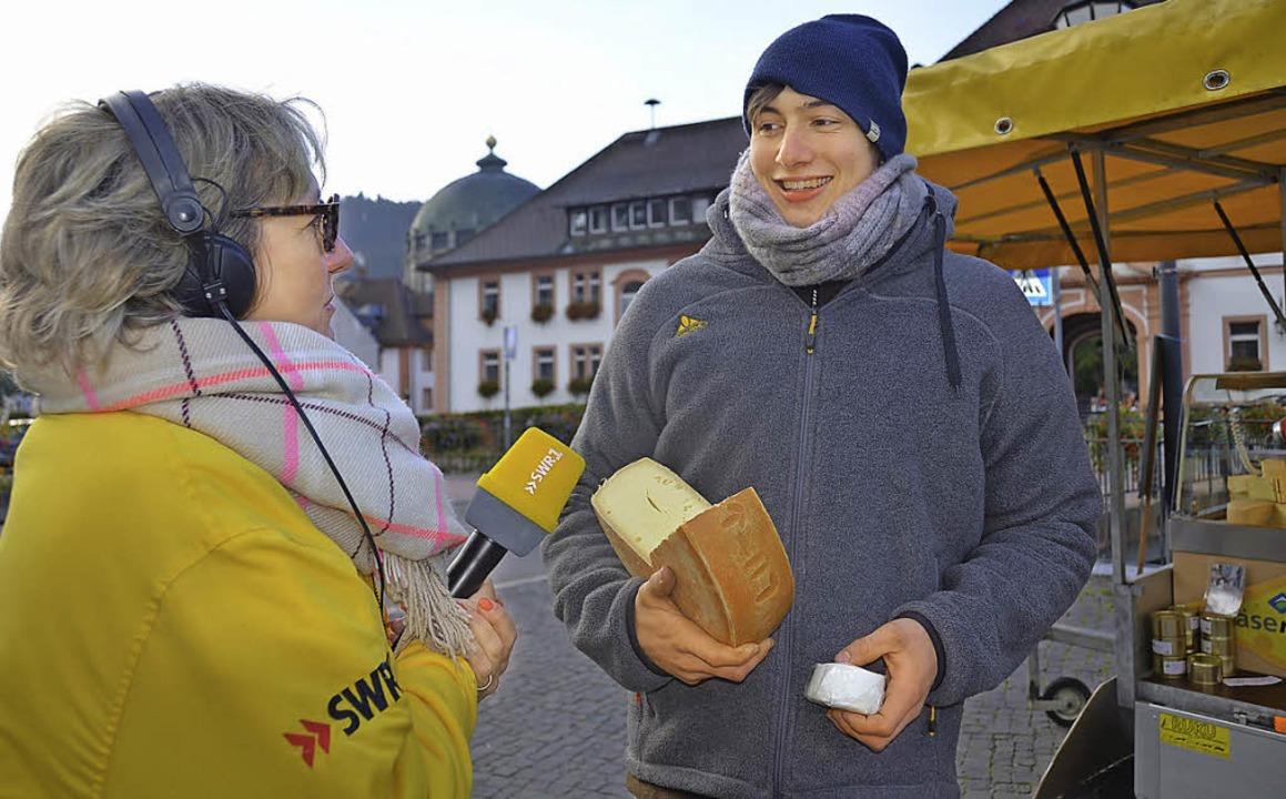 Zur guten Küche gehören gute Zutaten: ...in  live vom St. Blasier Wochenmarkt.   | Foto: Susanne Filz