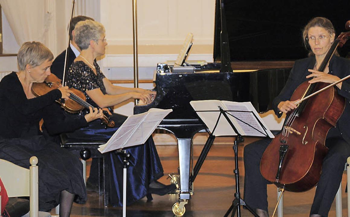 Mit Beethoven, Schönberg und Schubert ...losterkonzerte St. Blasien bereichert.    Foto: Margrit Matyscak