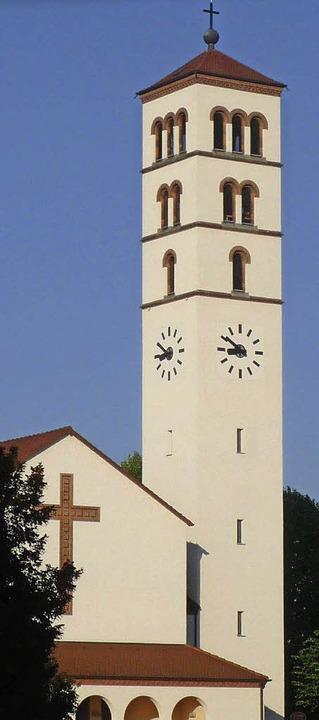 Die katholische Kirche Christ roi wurde 1934 geweiht.   | Foto: Kaufmann