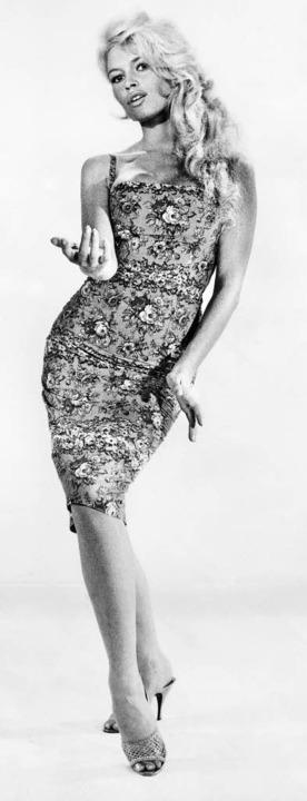 Brigitte Bardot: eine Aufnahme aus den 50er Jahren   | Foto: AFP