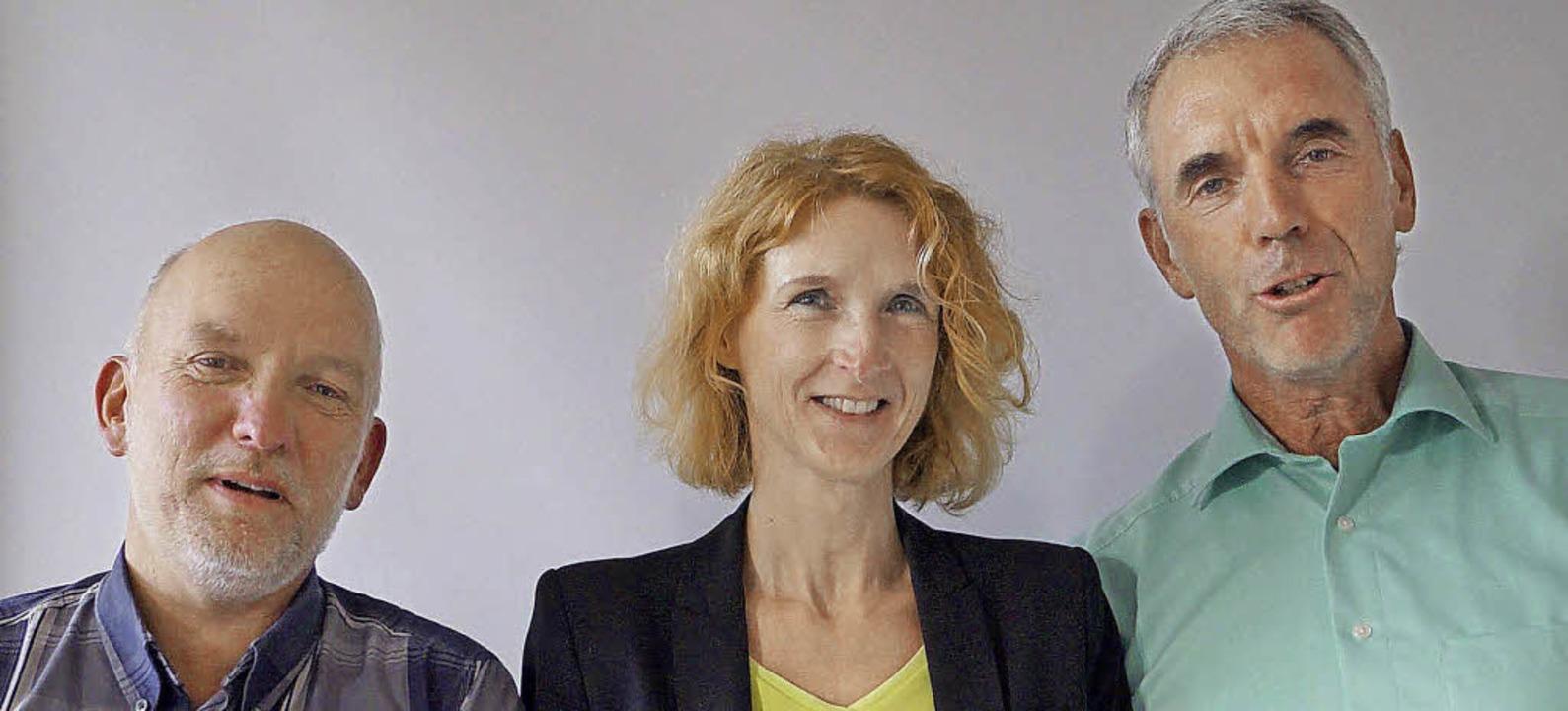 Moick, Meier, Merstetter (von links) führen den Verband.   | Foto: Hartenstein