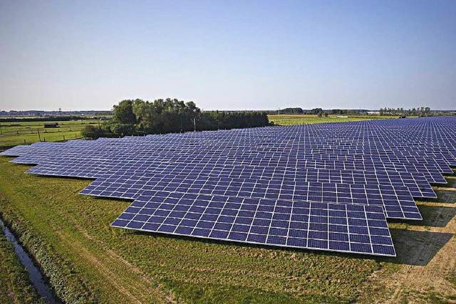 Riesiger Solarpark in Hohberg geht nach Betrugsversuch ans Netz