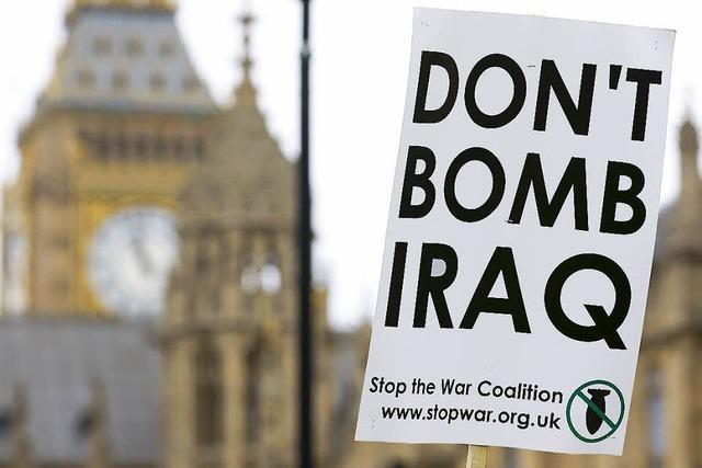 Briten ziehen mit in den Kampf gegen IS