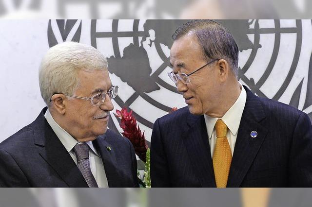 Abbas kritisiert Israel scharf