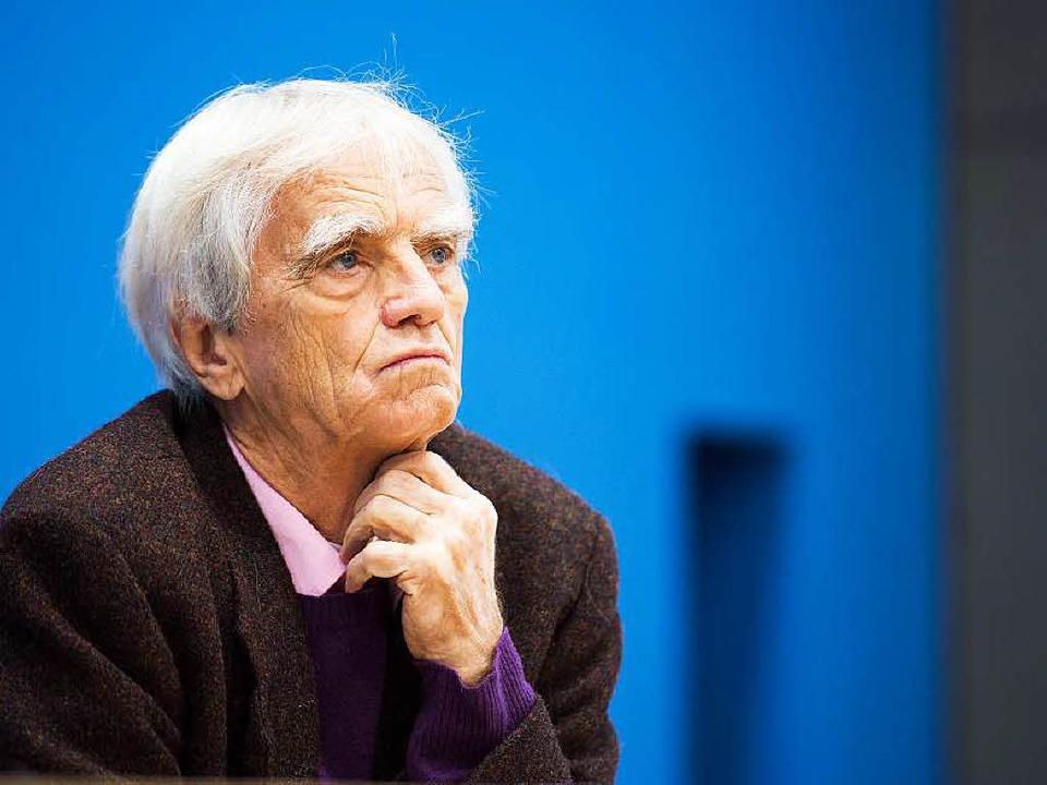 Der Grünen-Politiker Hans-Christian St... Klage beim Bundesverfassungsgericht.   | Foto: DPA