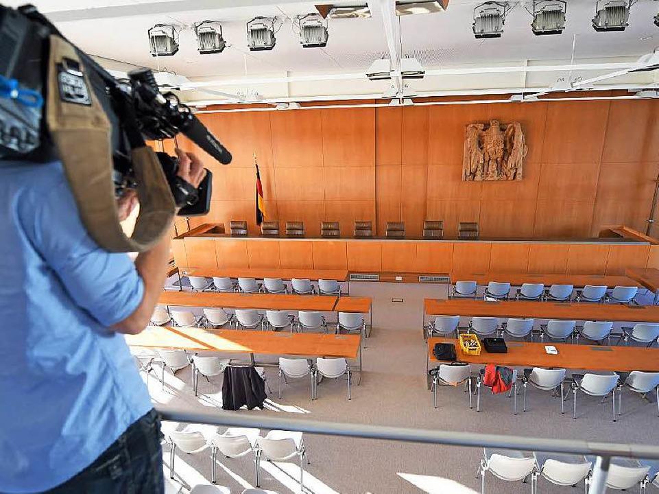 Das Bundesverfassungsgericht zieht in sein saniertes Gebäude    Foto: dpa