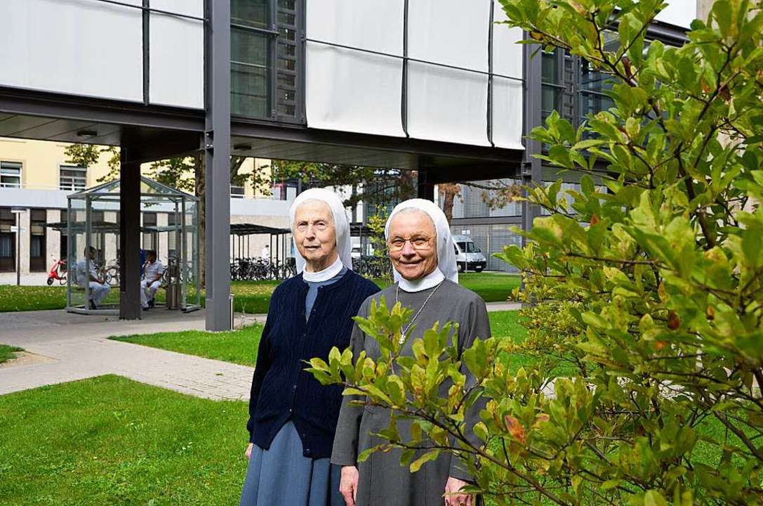 Maria Franziska (l.) und Tiberia  | Foto: bloedner