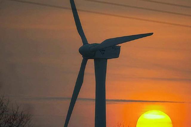 Am neuen Windrad können sich Bürger beteiligen