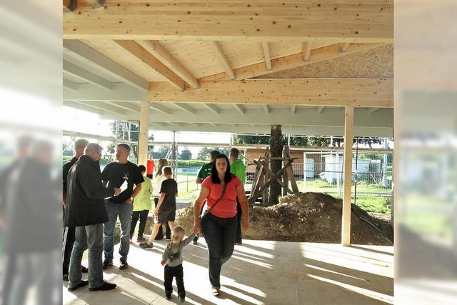SV Mundingen: Vereinsheim-Rohbau ist fertig