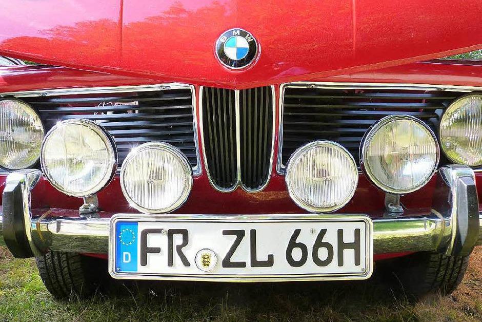 Von BMW bis Volkswagen: Alles was Rang und Namen hatte, zeigte sich in Hasel. (Foto: Dirk Sattelberger)