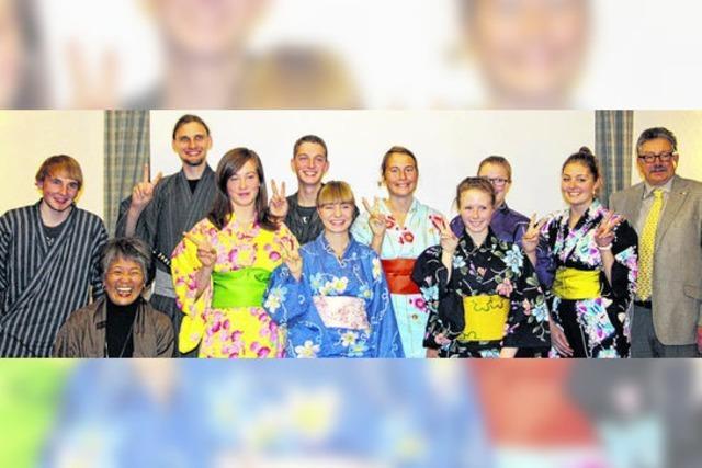 Fasziniert von Tempeln, Sushi und den Kimonos