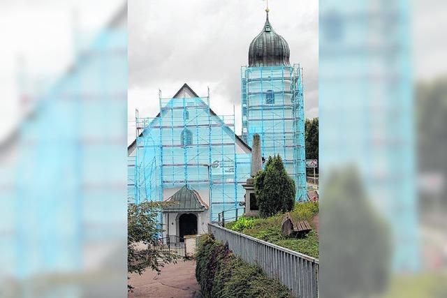 Morsche Balken im Gotteshaus Waldkirch - Sanierung für 70.000 Euro