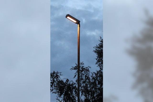 Sparsamere Straßenbeleuchtung