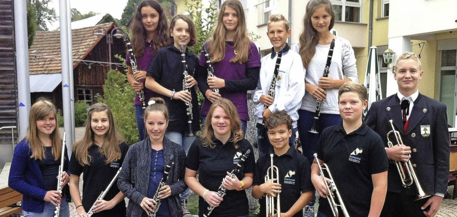 Waren in Steinerbad erfolgreich: junge...der Ausbildungsgemeinschaft Rickenbach  | Foto: zvg