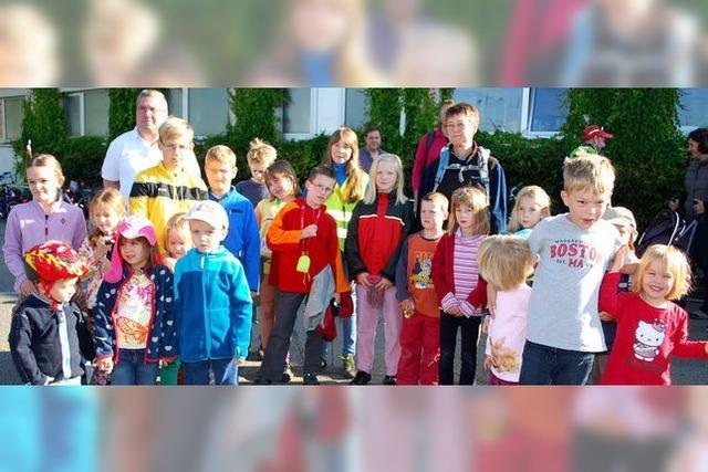 Wandern kann auch Kindern Spaß machen, der Wanderclub beweist's