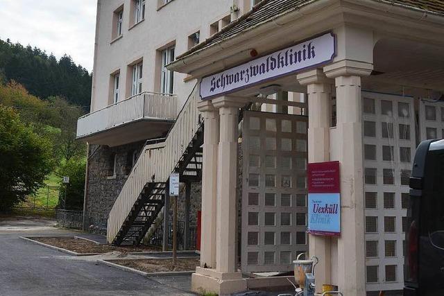 Schwarzwaldklinik: Erste Patienten beziehen ihre Zimmer