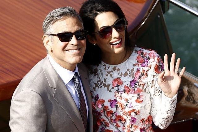 Clooney und Alamuddin sagen