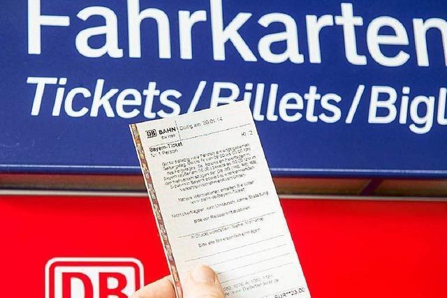 Bahn erhöht die Fahrpreise im Regionalverkehr