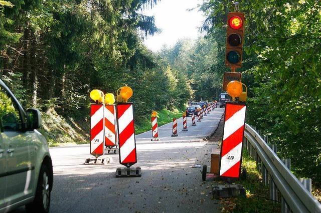 B 415 über den Schönberg vier Tage gesperrt