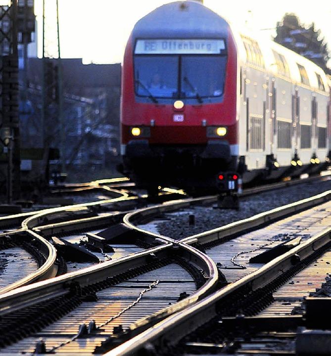 Wohin geht die Reise beim Ausbau der Rheintalbahn?    Foto: Gollrad