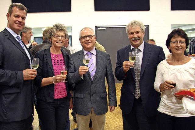 Oberrimsingen: Ehemaliger Ortsvorsteher Bernhard Kiefer feierlich verabschiedet