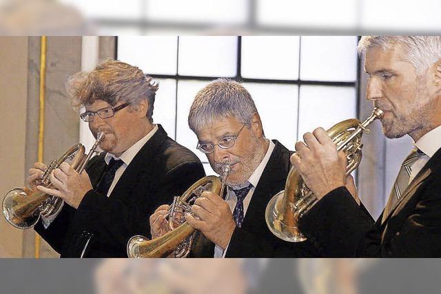 Trompetenensemble Stuttgart spielt in Schuttern