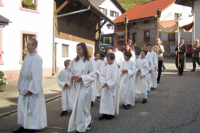 Feierliche Prozession