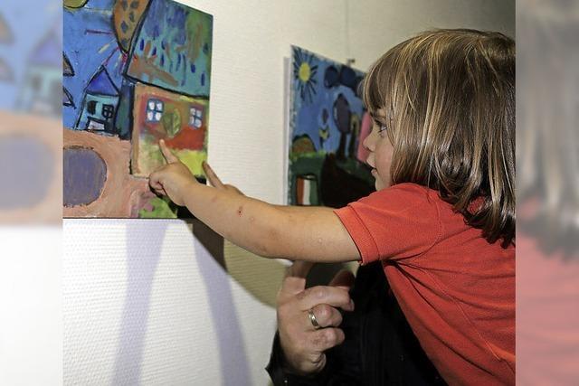 Kinder bringen Farbe